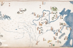Illustrated map