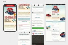 Drive through APP UI design
