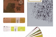 Nature themed notebook and calendar design